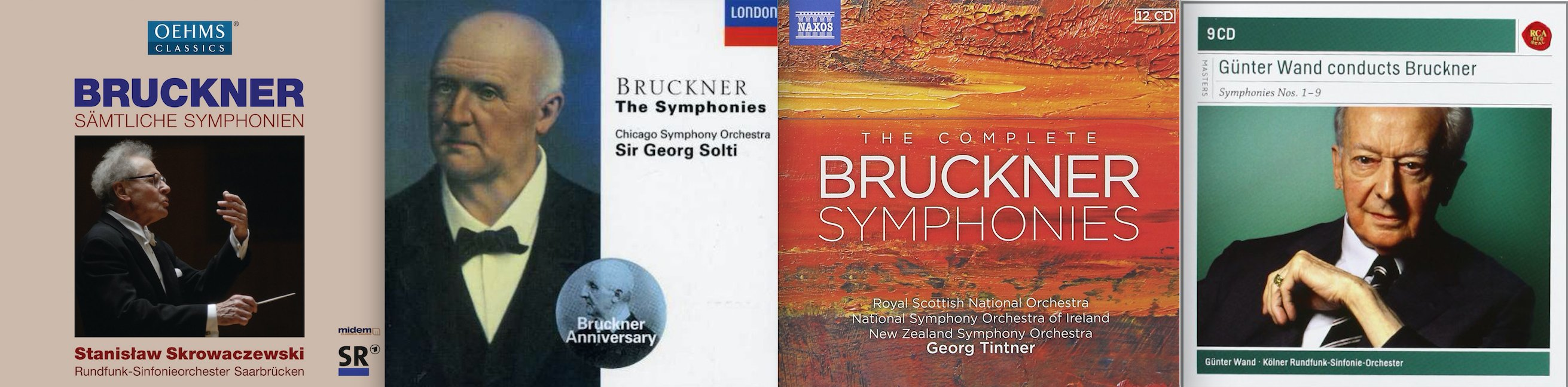 Evaluating Symphonies 1-9 From 16 CD Box Sets